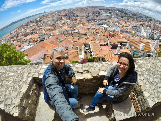 Melhor Vista de Lisboa - Mirante do Castelo de São Jorge