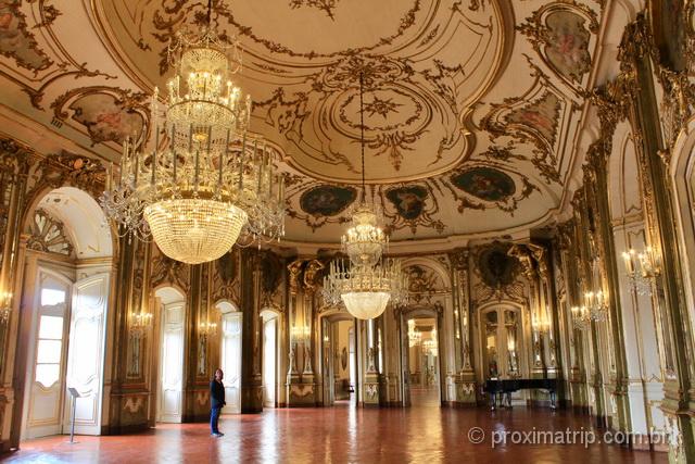 Interior do Palácio de Queluz
