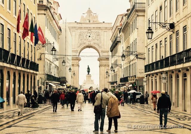 O que fazer em Lisboa - Arco da Rua Augusta