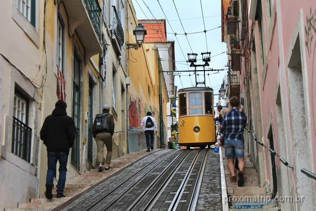 O que fazer em Lisboa - Elevador da Bica
