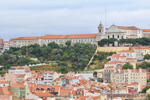 Vista do Miradouro de São Pedro de Alcântara