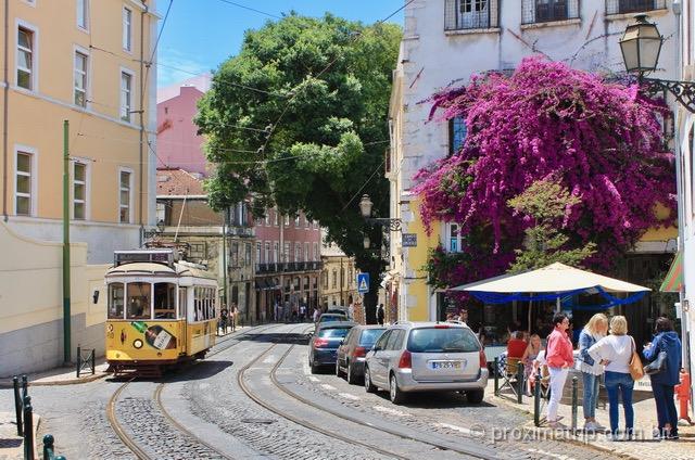 O que fazer em Lisboa - Andar de Bonde (Elétrico)