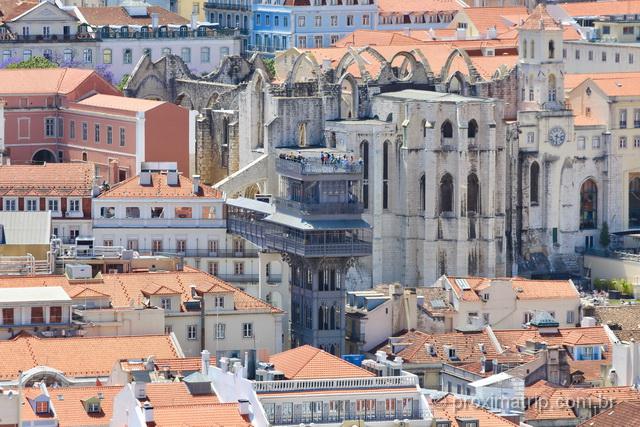 O que fazer em Lisboa - Elevador de Santa Justa