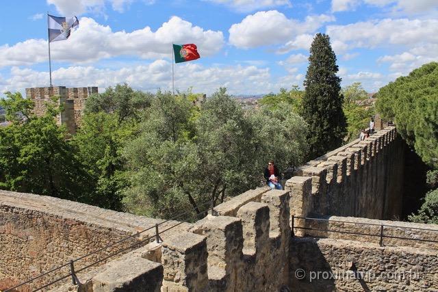 O que fazer em Lisboa - Castelo de São Jorge