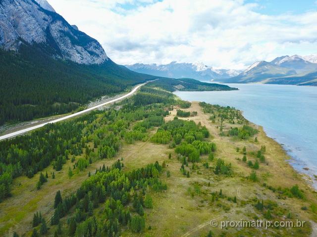 Abraham Lake & Preachers Point