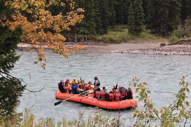o que fazer em Jasper: esportes de aventura