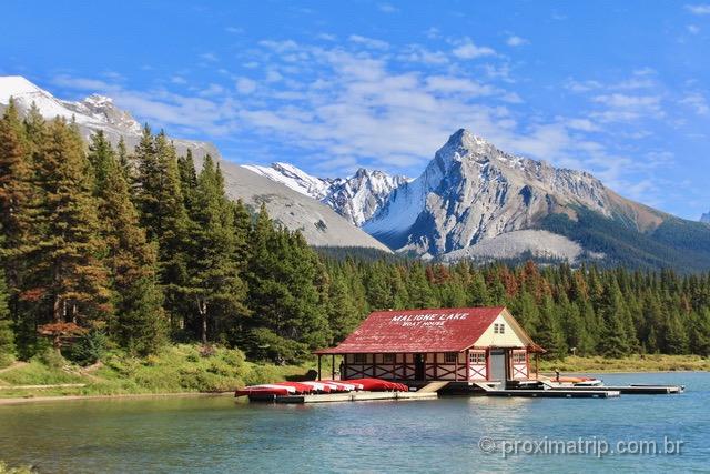o que fazer em Jasper: Maligne Lake
