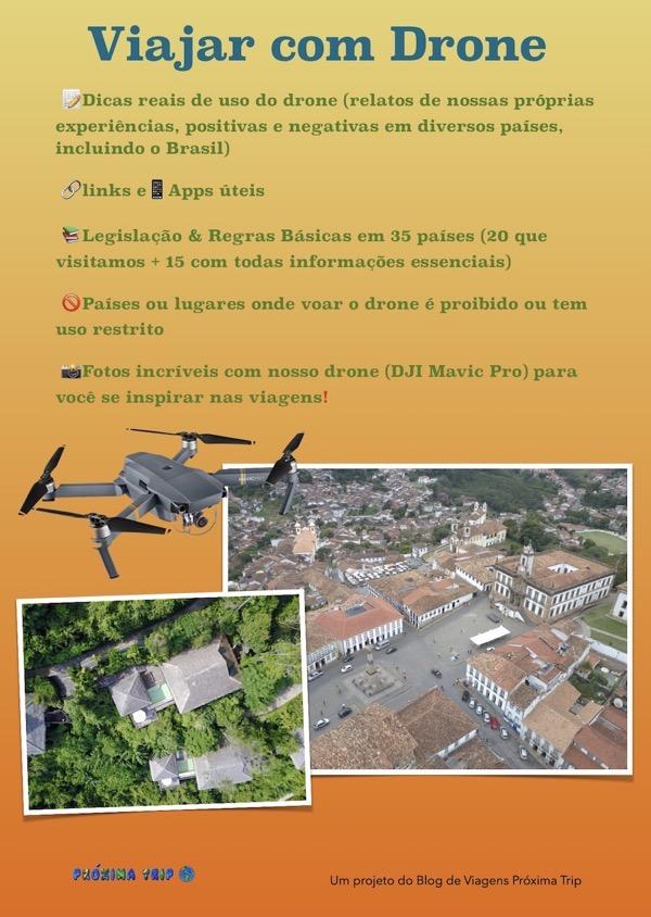 Capa ebook viajar com drone
