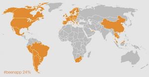 Países onde estive