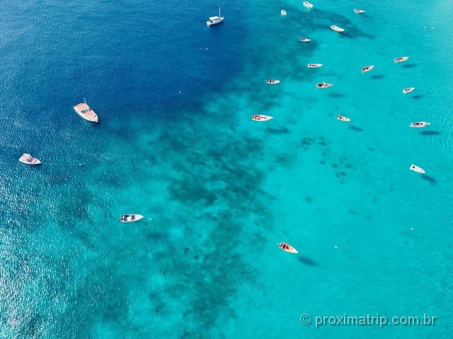 A linda Playa Piskado, em Curaçao
