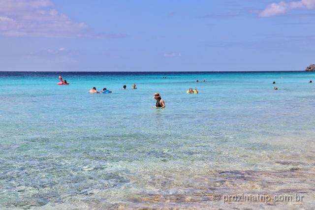 Praia de Cas Abao, em Curaçao