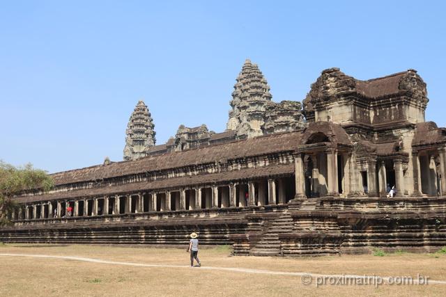 Templo Angkor Wat Camboja