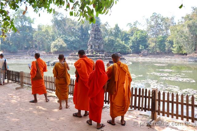 monjes camboja