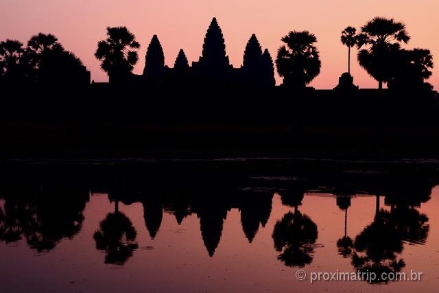 Nascer do sol Angkor Wat Camboja