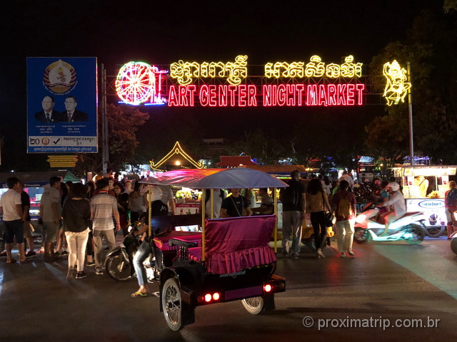 Night Market Camboja