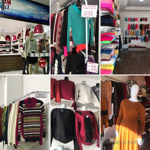 Compras de malhas: uma das principais coisas para fazer em Monte Sião