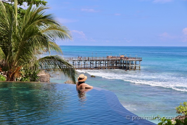 Infinity pool do Ayana Resort & SPA