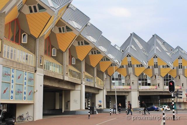 O que fazer em Rotterdam: visitar as famosas e diferentes Casas Cubo!