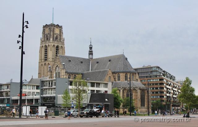 O que fazer em Rotterdam: visitar a Imponente Igreja Medieval