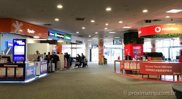 onde comprar chip celular Nova Zelândia