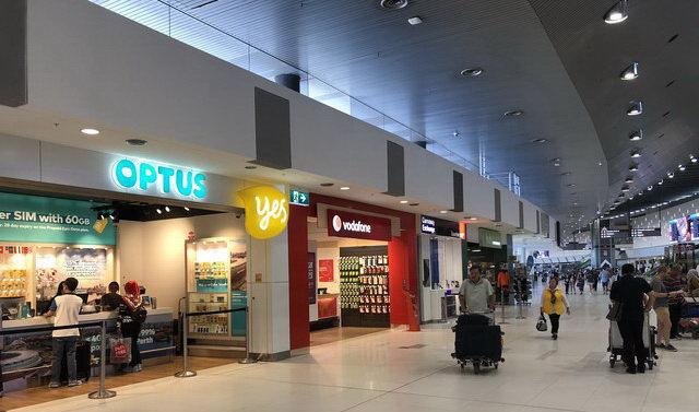 loja Optus Vodafone Perth Australia