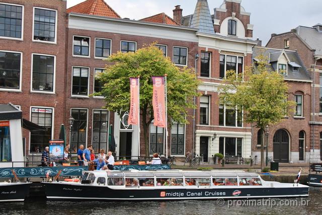 Passeio de barco em Haarlem