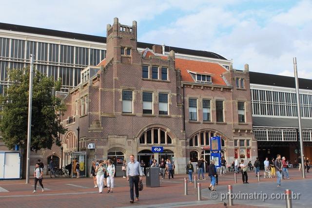 Estação central de Haarlem: a única em estilo Art Nouveau da Holanda