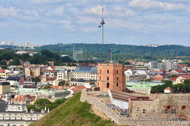 o que fazer em Vilnius - Castle Tower