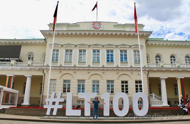 O que fazer na Lituania - visite o Palácio Presidencial