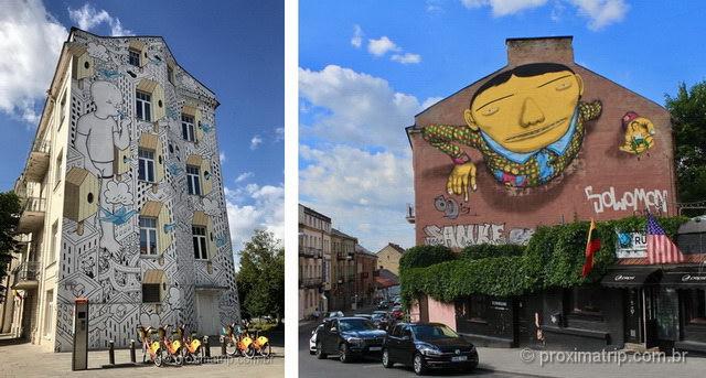 O que fazer em vilnius - street art