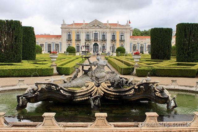 O que fazer em lisboa Palácio de Queluz