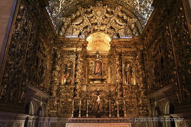 arte barroca linda Igreja visitar Lisboa