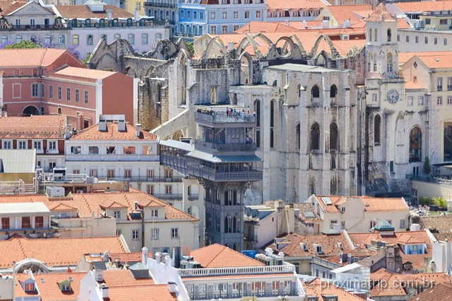 O que fazer em Lisboa elevador santa justa