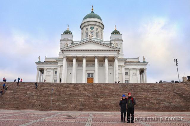A Catedral: o ponto turístico mais famoso de Helsinki!