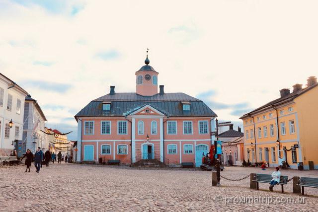 O que fazer em Porvoo: não deixe de visitar o Museu da cidade, no prédio da antiga prefeitura!