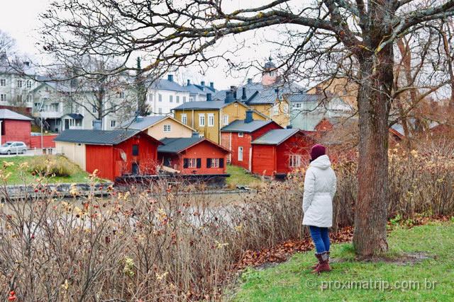 lindo cenário na cidade medieval mais charmosa da Finlândia!