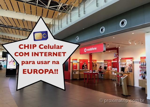 Onde comprar chip Internet 4G na Europa com roaming gratuito