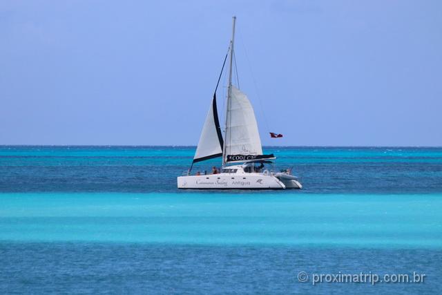 o inconfundível mar do Caribe!