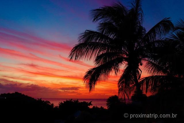 Pôr do Sol em Antígua e Barbuda!