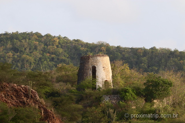 Os moinhos das plantations de açúcar: atração turística histórica de Antígua e Barbuda