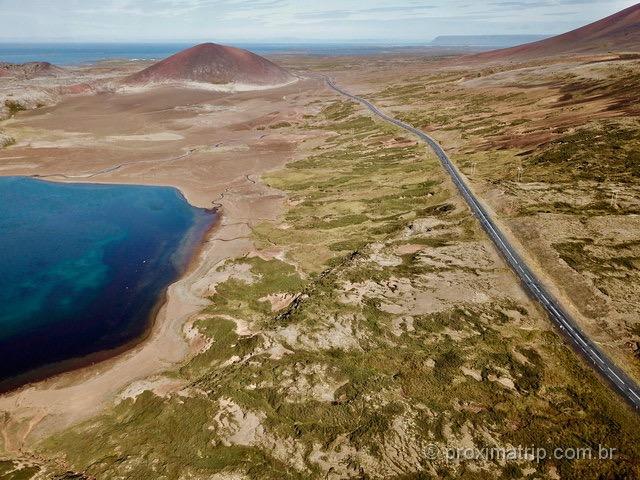Fantásticas paisagens na Islândia, captadas com o drone!