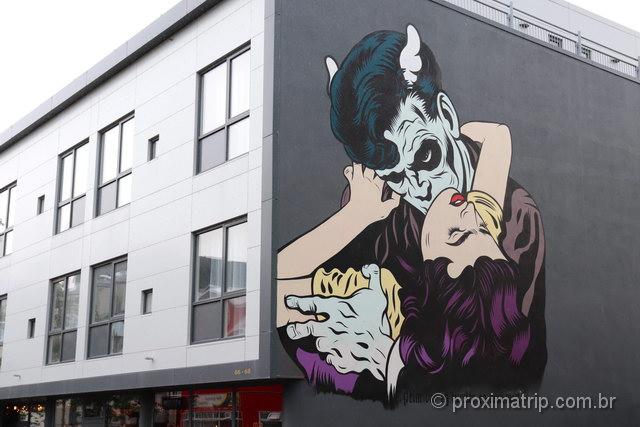 street art em Reykjavik