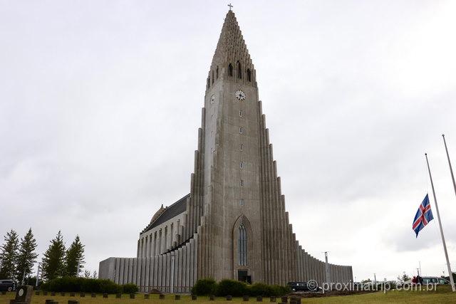 o que fazer em Reykjavík: Hallgrímskirkja é uma das principais atrações