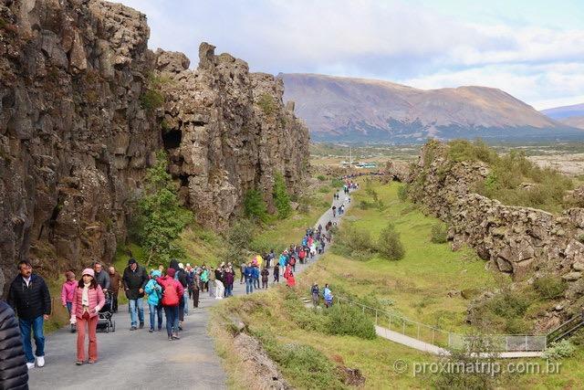 Encontro de placas tectônicas na Islândia: atração inusitada!
