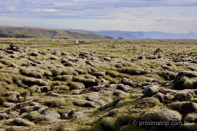 Campos de lava: há vários locais na Islândia para visitar essa atração diferente!