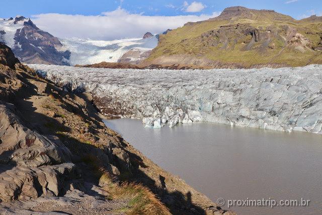 Glaciares: um dos principais elementos na paisagem da Islândia!