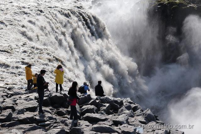 Cachoeira impressionante: Dettifoss
