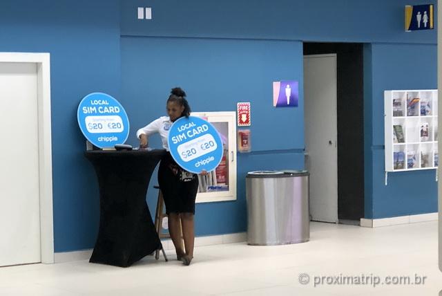 Onde comprar chip de celular com internet em Curaçao