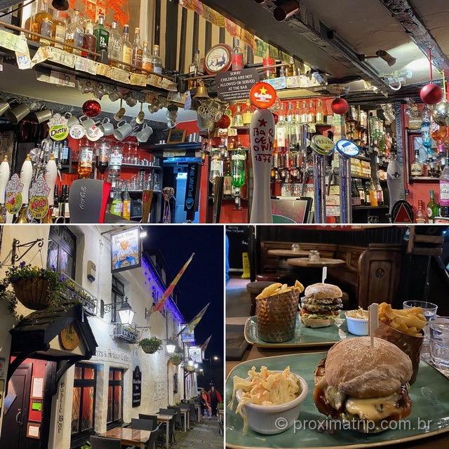 Black Boy Inn: famoso pub em Caernarfon