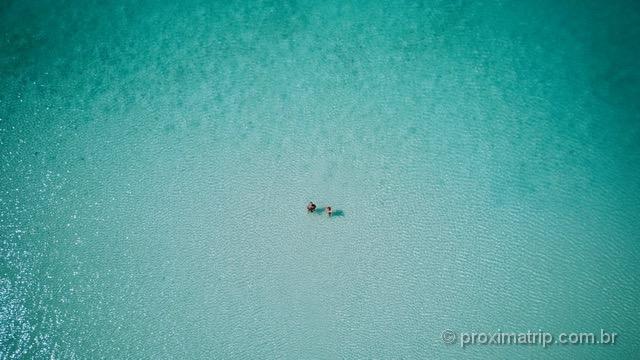 Drone em Turks and Caicos: imensidão turquesa!